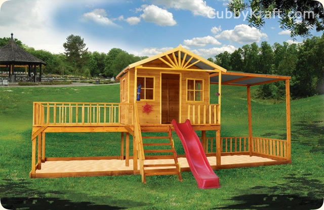 The best cubby house entertainment ever cubbykraft for Willow creek mansion