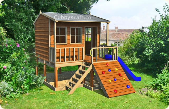 Bring back the love of play with a cubby house ...