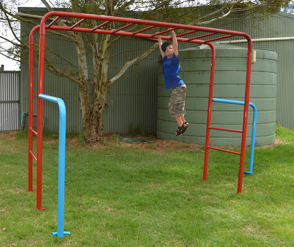 Tumble Monkey Bars Playground Equipment