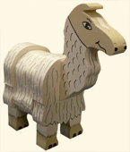 Handmade Kids Wooden Toy Animal