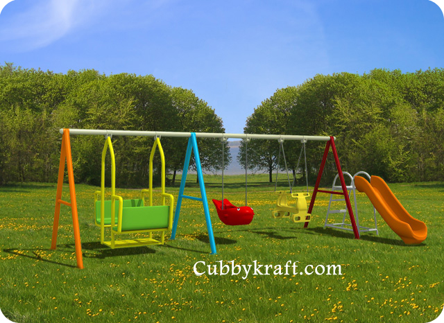 Awesome-Kids-Fit Swingset