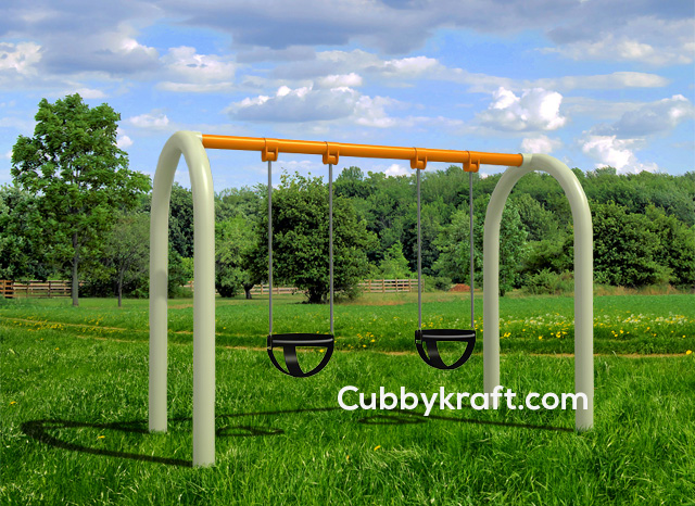 Infant-Swing Swingset