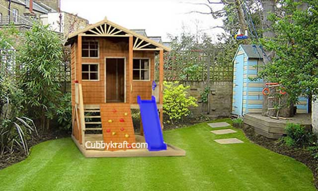 Rascals Hideout, cool tree houses, backyard playsets, cubby house, Rascals Hideout