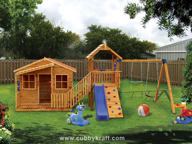 Chipmonk Kindy Gym, diy wooden playhouse, cubby house, Chipmonk Kindy Gym Cubby House