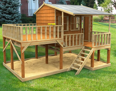 Country Cottage, playground equipment australia, cubby house, Country Cottage Cubby House