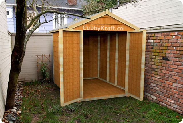 Medium Sized Garden Shed