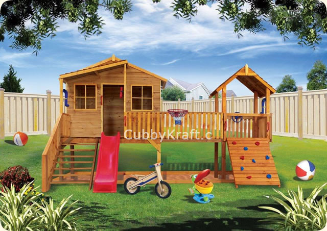 Harrys Hideout, playhouse, playground equipment, cubby house, Harrys Hideout Cubby House