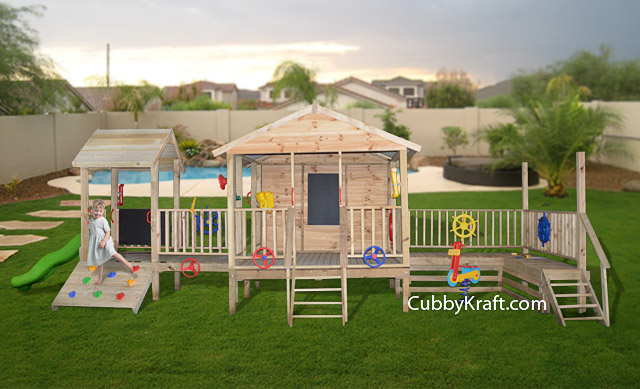 Jurasic Park, cubby houses for sale, cubby house fort, Jurasic Park Cubby Fort