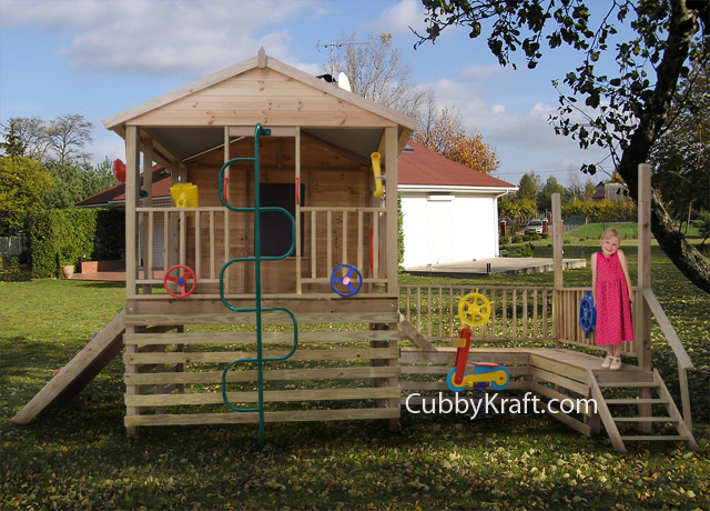 Kidswork Park, cubby houses for sale, cubby house fort, Kidswork Park Cubby Fort