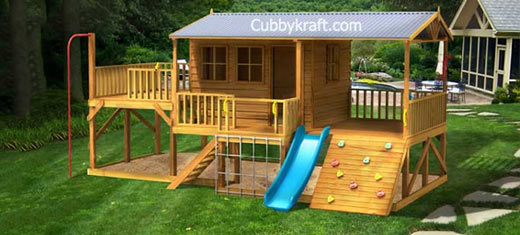 Panda Pack Kids Cubby House