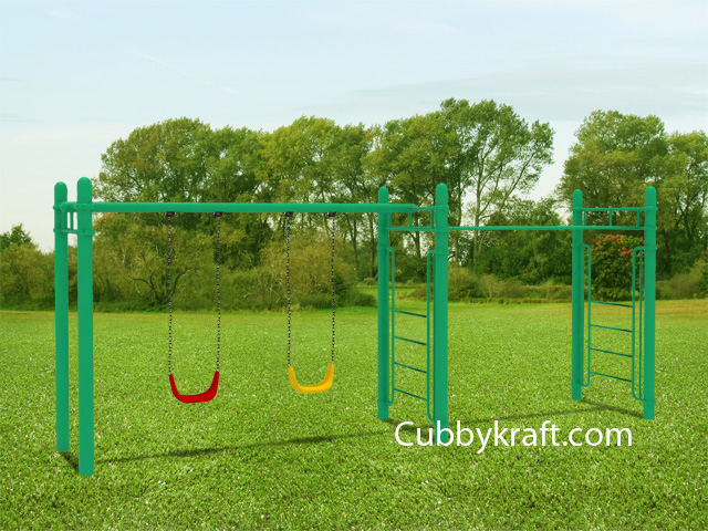 Magic Lime Swing Swingset