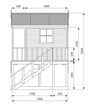 backyard playhouse designs, Kookaburra Deluxe Cubby