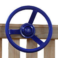 steering wheel, playhouse, playground equipment, outdoor toys
