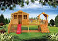 wooden playhouse design, Harrys Hideout Cubby