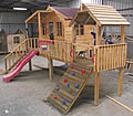 playhouse designs, Harrys Hideout Cubby
