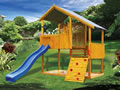 kids playground equipment, Jungle Tower Cubby House Fort