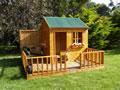 wooden playhouse, Mulberry Cottage Cubby House