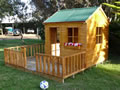backyard kids toys, Mulberry Cottage Cubby House