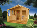 wooden playhouse, Possum Palace Cubby House