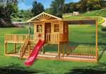 backyard playhouses, Willow Creek Cubbiehouse