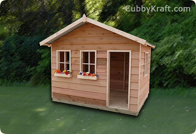 Rainbow Lodge, wooden cubby house, cubby house, Rainbow Lodge Cubby House