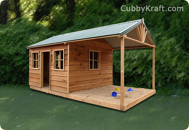 Sandgroper, kids outdoor playhouse, cubby house, New Sandgroper Cubby House