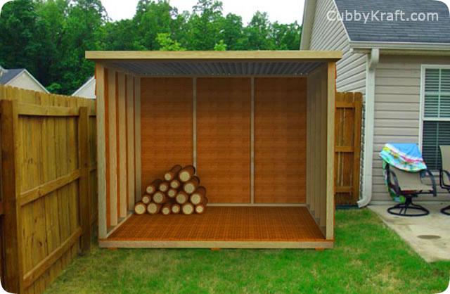 Large Wood Shed
